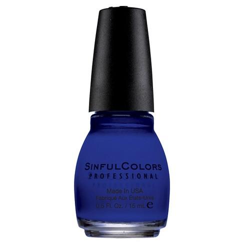 Sinful Colors Nail Polish - Endless Blue - 0.5 fl oz - image 1 of 3