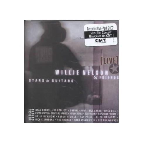 Willie Nelson - Stars & Guitars (CD) - image 1 of 1