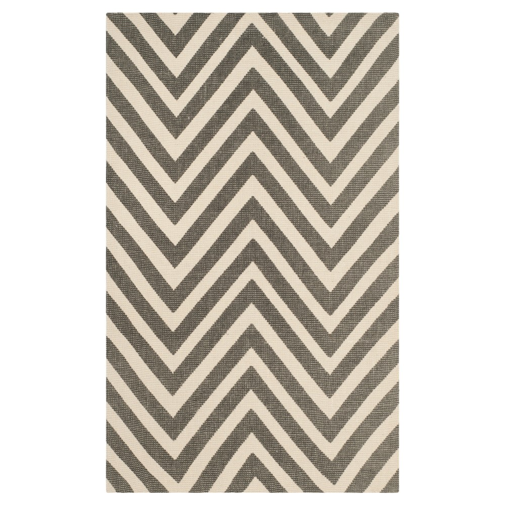 Low Price GrayIvory Abstract Loomed Accent Rug 23x39 Safavieh