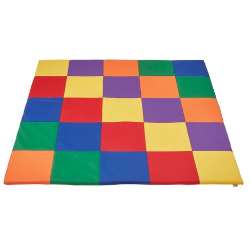 ECR4Kids® SoftZone® Patchwork Toddler Mat - image 1 of 3