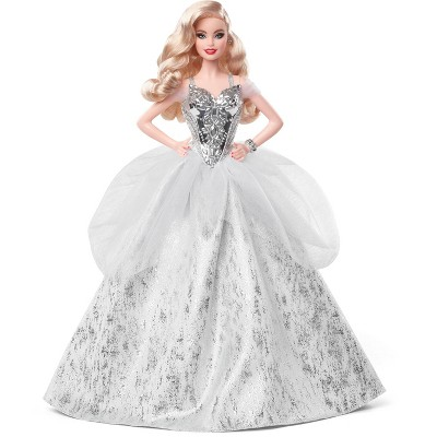 Barbie Signature 2021 Holiday Collector Doll - Wavy Blonde Hair