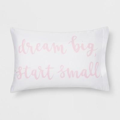 Microfiber Dream Big Pillowcase (Standard)Pink - Room Essentials™
