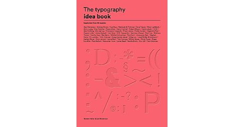 Typography Idea Book : Inspiration from 50 Masters (Paperback) (Steven Heller) - image 1 of 1