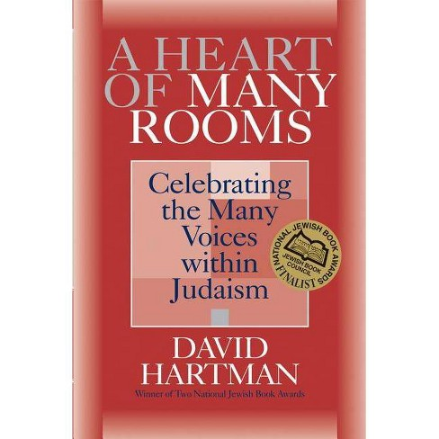 A Heart of Many Rooms - (Celebrating the Many Voices Within Judaism) by  David Hartman (Paperback) - image 1 of 1