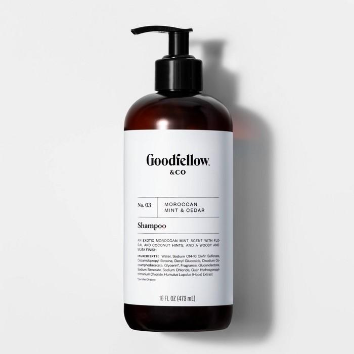 No. 03 Moroccan Mint & Cedar Shampoo - 16 fl oz - Goodfellow & Co™ - image 1 of 2