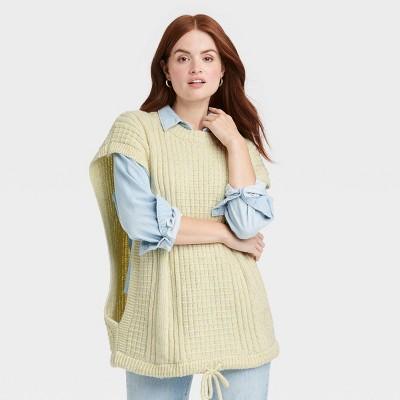 Women's Knit Vest - Universal Thread™ Green One Size