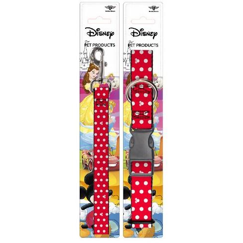 Disney Minnie - Buckle-Down Dog Leash & Collar Set - L - image 1 of 4