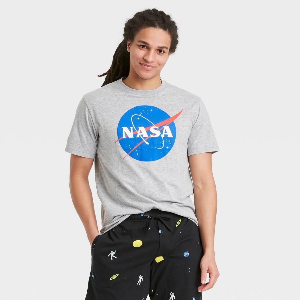 Men 39 S Nasa Pajama Set Black Xl