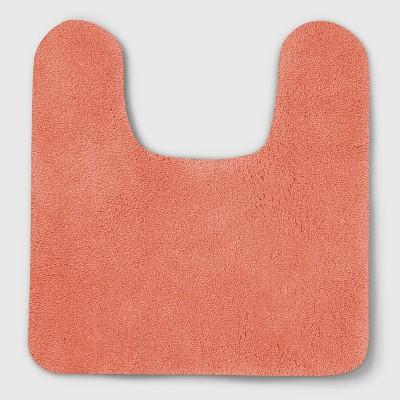Perfectly Soft Nylon Solid Contour Bath Rug Georgia Peach - Opalhouse™