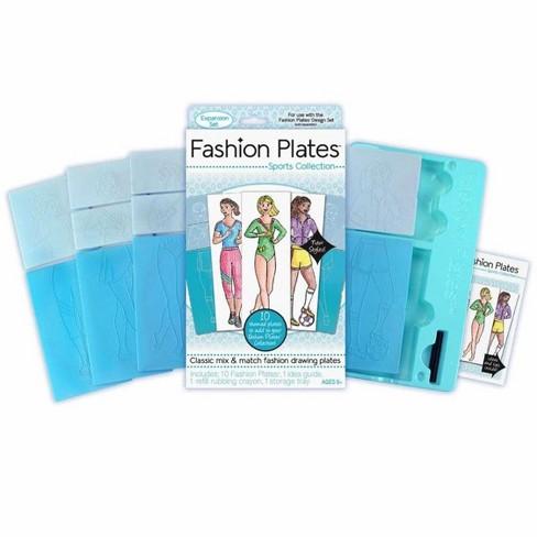 Kahootz, LLC Fashion Plates Expansion Packs Sports - image 1 of 3