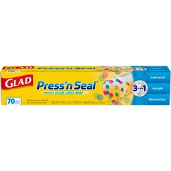 Glad Press'n Seal Plastic Food Wrap Roll - Designer Series - 70 sq ft
