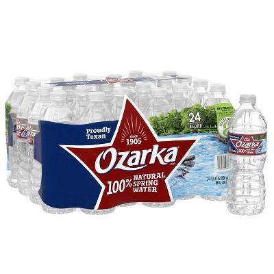 Ozarka Brand 100% Natural Spring Water - 24pk/16.9 fl oz Bottles