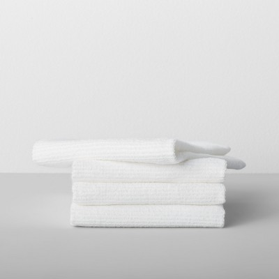 White Solid Barmop Towel 4pk - Made By Design™