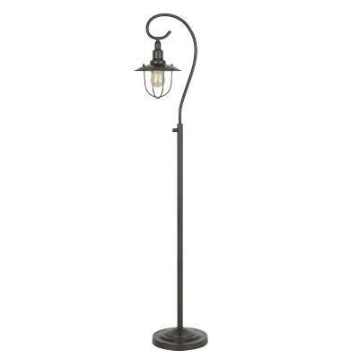 "58"" Metal Vigo Down Bridge Floor Lamp (Includes Light Bulb) Dark Bronze - Cal Lighting"