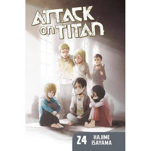 Attack on Titan 24 - by  Hajime Isayama (Paperback) - image 1 of 1