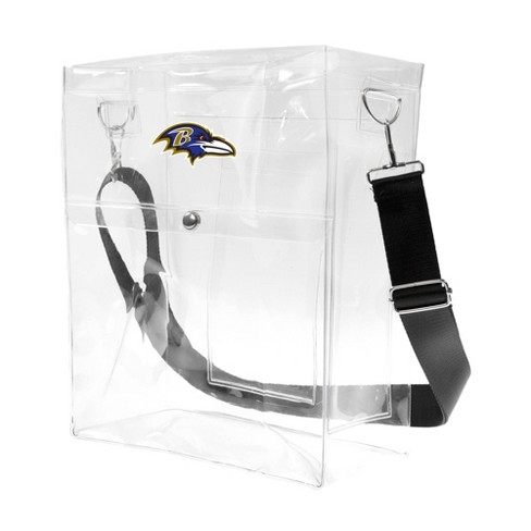 NFL Baltimore Ravens Clear Ticket Satchel - image 1 of 4