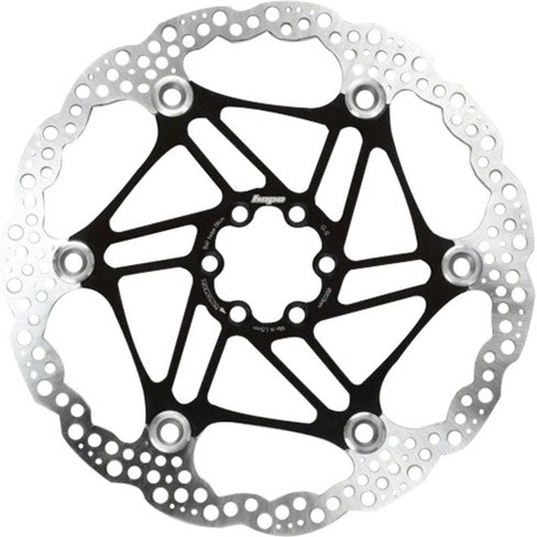 Hope Floating Disc Brake Rotor 140mm Black 2 Piece Includes Mounting Bolts - image 1 of 1