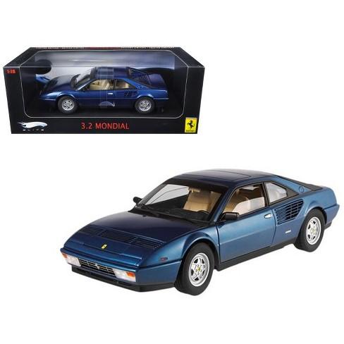 Ferrari Mondial 3.2 Elite Edition Blue 1 of 5000 Produced 1/18 Diecast Car Model by Hotwheels - image 1 of 1