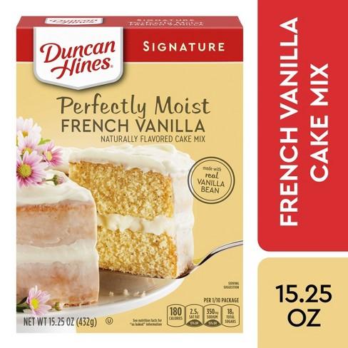 Duncan Hines Moist Deluxe French Vanilla Premium Cake Mix - 15.25oz - image 1 of 4