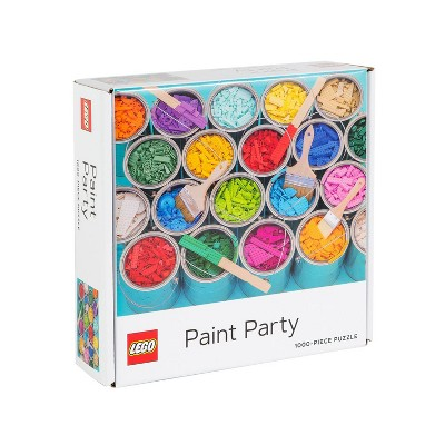 Chronicle Books LEGO Paint Party Jigsaw Puzzle - 1000pc