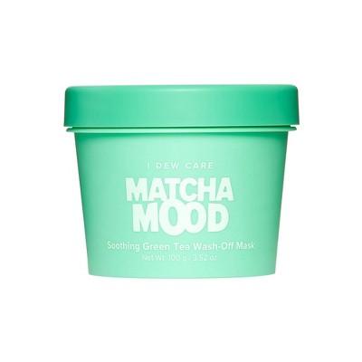 I DEW CARE Matcha Mood Soothing Green Tea Wash-Off Mask - 3.52oz