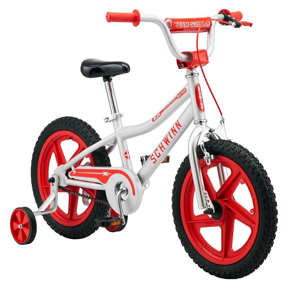 Schwinn Sx100 16 34 Kids 39 Bike Silver