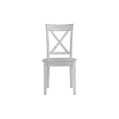 Set of 2 Jamestown Dining Chairs White - Boraam