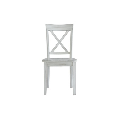 Jamestown Set of 2 Dining Chairs White - Boraam - image 1 of 4