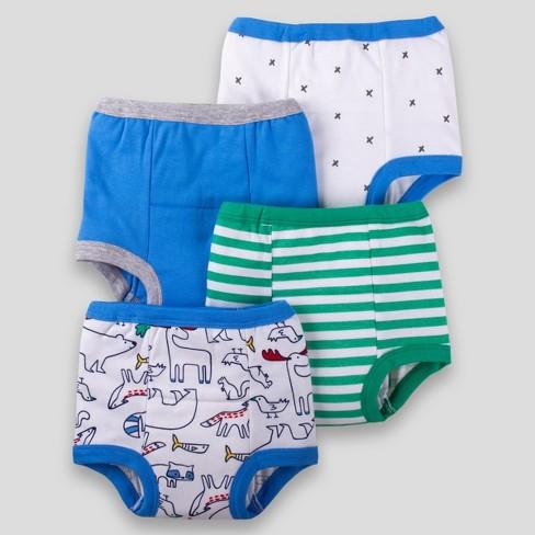 33382c77c Lamaze Baby Boys  Organic 4pk Critter Training Pants - Blue 18-24M ...