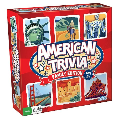 Outset Media American Trivia Family Game - image 1 of 1