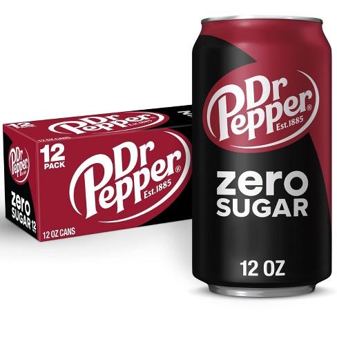 Dr Pepper Zero Sugar - 12pk/12 fl oz Cans - image 1 of 4