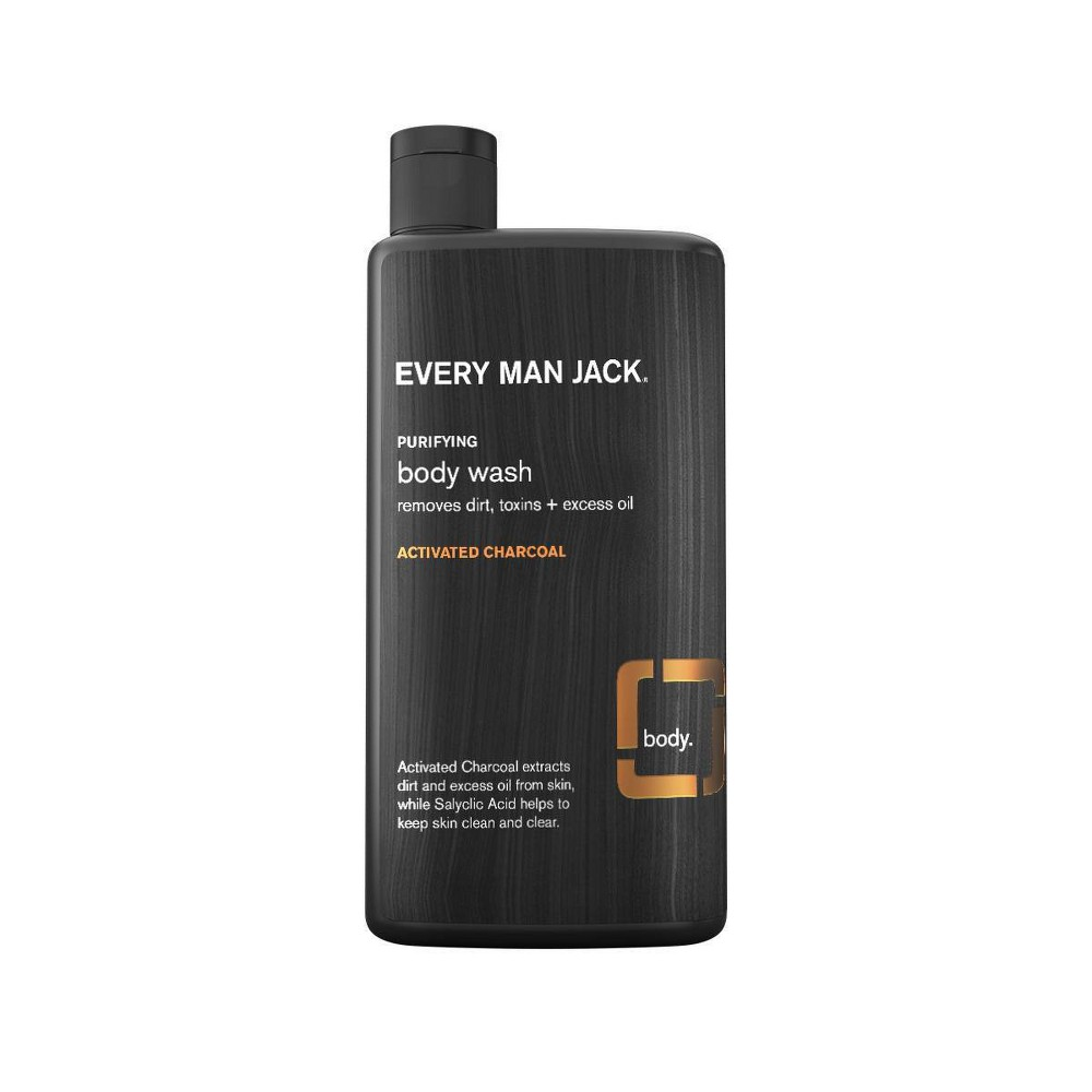 Image of Every Man Jack Activated Charcoal Skin Clearing Body Wash - 16.9 fl oz