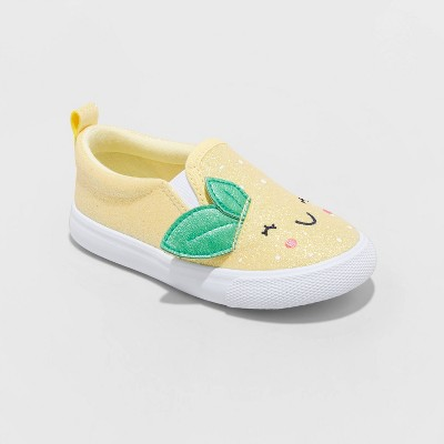 Toddler Girls' Stevie Lemon Apparel Sneakers - Cat & Jack™ Yellow