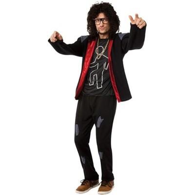 LMFAO Sky Blue Party Rock Anthem Costume Adult