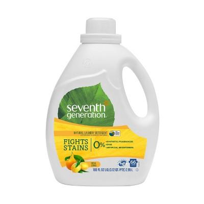 Seventh Generation Natural Laundry Detergent - 100 fl oz