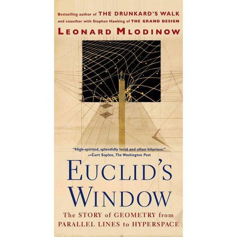 Euclid's Window - by  Leonard Mlodinow (Paperback) - image 1 of 1