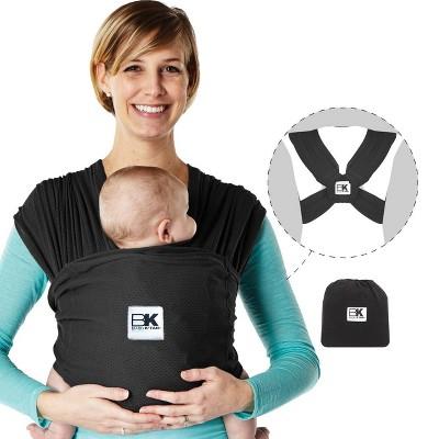 Baby K'tan Breeze Baby Carrier - Black - Medium