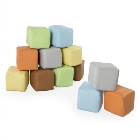 Kaplan Early Learning Toddler Soft Blocks - Set of 12 - image 1 of 4