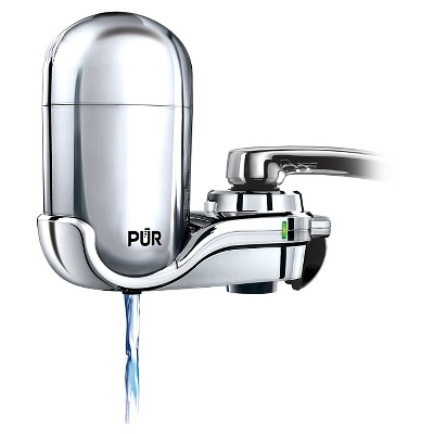 PUR Advanced Faucet Water Filter - Chrome