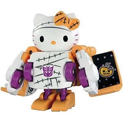 QTC-01H Hello Kitty Halloween Edition 2015 | Transformers Q-Series Action figures