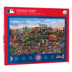 MLB Chicago Cubs 500pc Find Joe Journeyman Puzzle