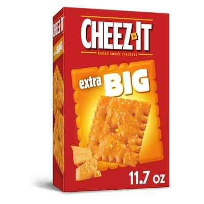 Cheez-It Big Baked Snack Crackers - 11.7oz