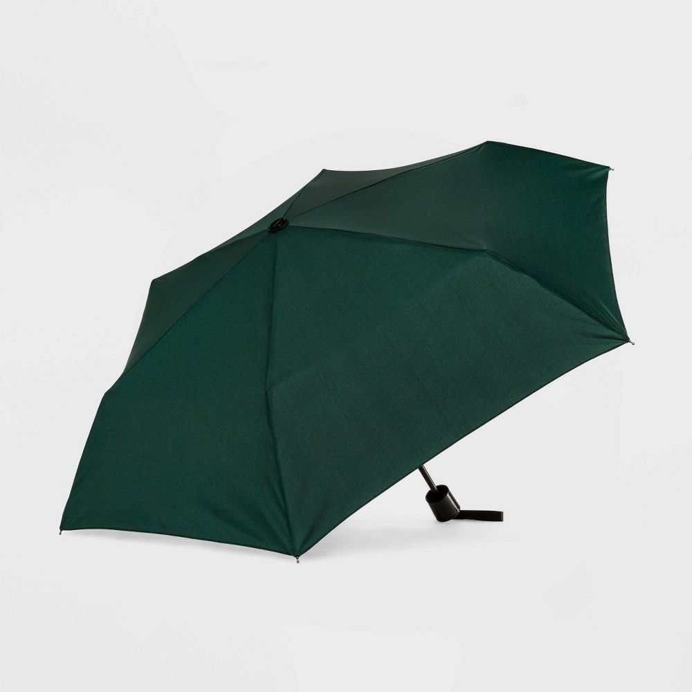 Image of Cirra by Shedrain Compact Umbrella - Green, Adult Unisex