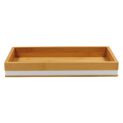 Soft Bamboo Tray White - Room Essentials™