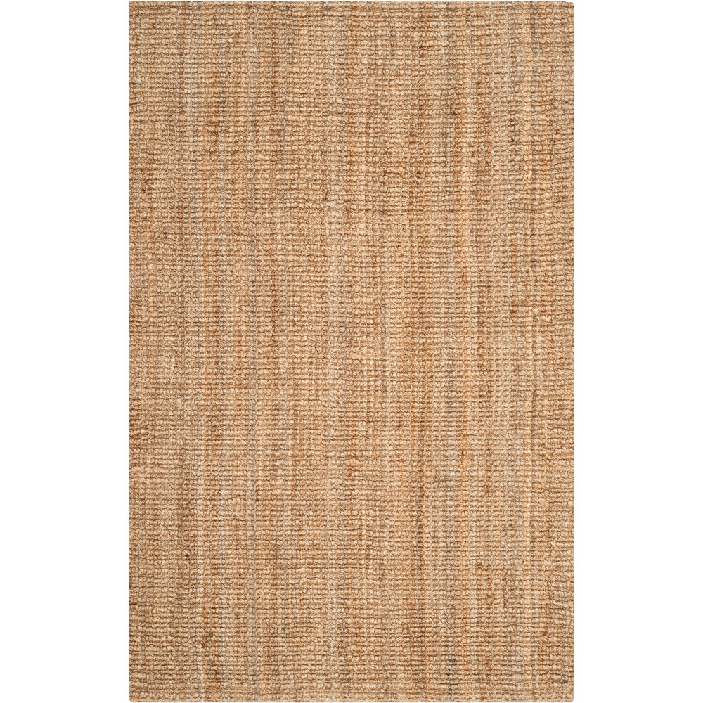 5'X7'6 Solid Woven Area Rug Natural - Safavieh
