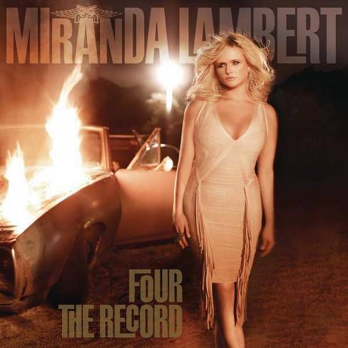 Miranda Lambert - Four The Record (CD) - image 1 of 1