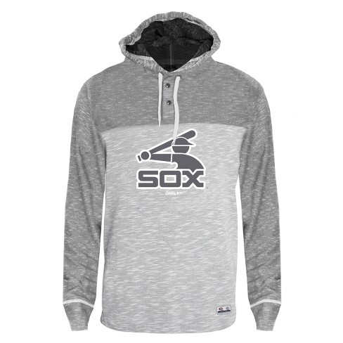 reputable site 1207c 6e40c MLB Chicago White Sox Men's Clubhouse Tonal Henley Hoodie ...