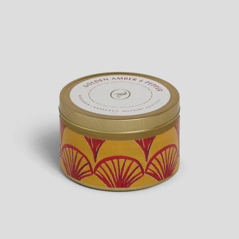 4.8oz Tin Jar Candle Golden Amber & Pepper - Opalhouse™ - image 1 of 2