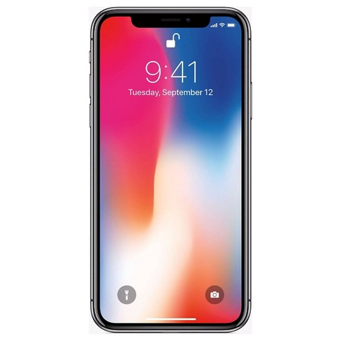 Apple iPhone X Pre-Owned (GSM-Unlocked) - image 1 of 2