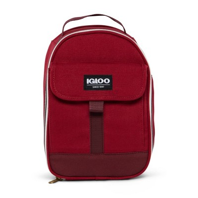 Igloo Nostalgia Domed Lunch Box - Wine